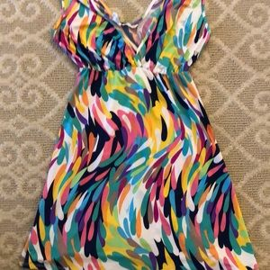 🌸 Trina Turk Colorful Sundress/Beach Cover up🌸